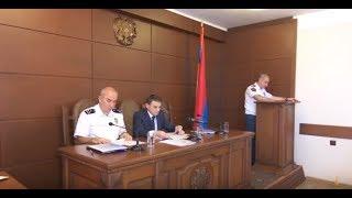 Ոստիկանության Երևան քաղաքի վարչությունում ամփոփվեց 2018թ․ 6 ամիսների աշխատանքը