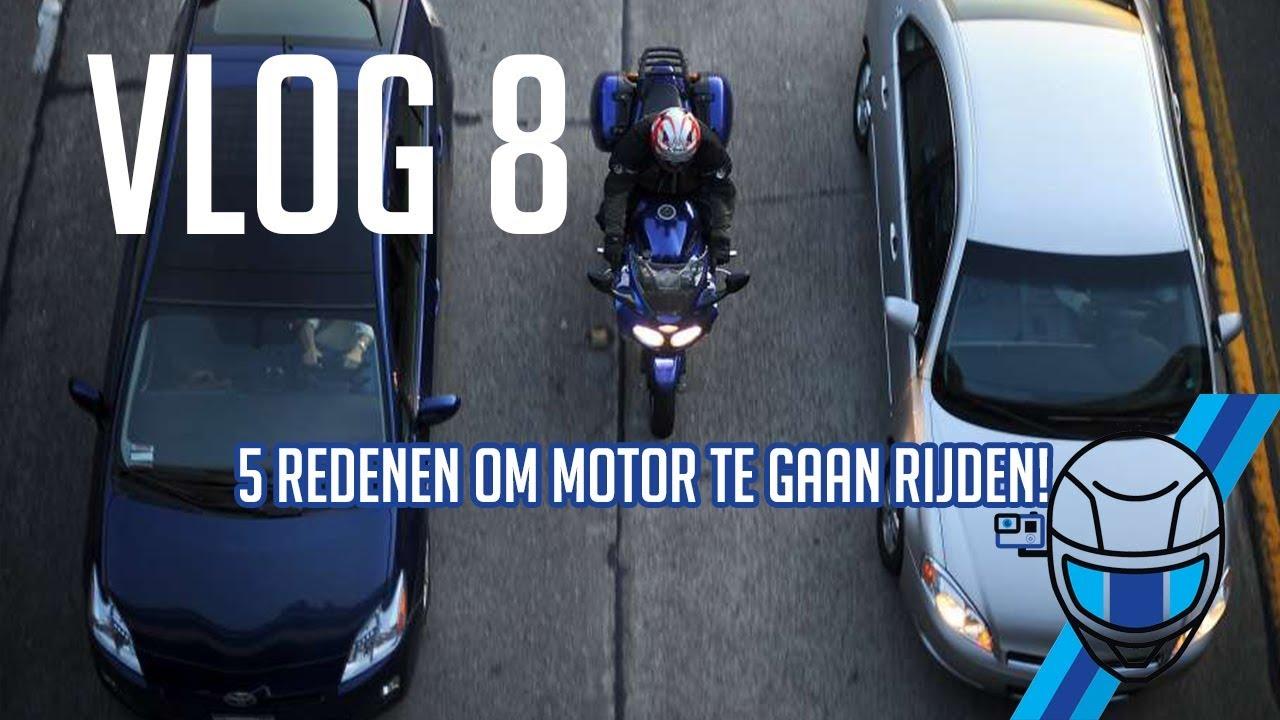 5 REDENEN OM MOTOR TE GAAN RIJDEN!! VLOG#8