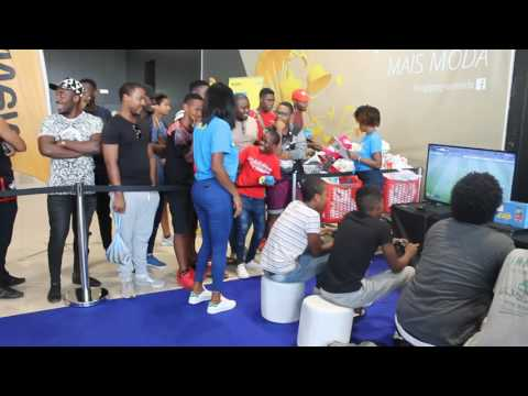 Grandes Fintas do Puto Elsio.  O Campeonato Angolano Virtual de Futebol