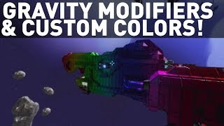 Gravity Modifications, Infinite Color Palette & Passages! (Space Engineers)
