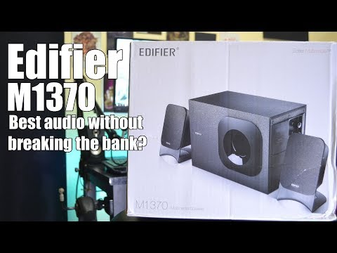Edifier m1370 from Lazada! Unbox, review and sound test!