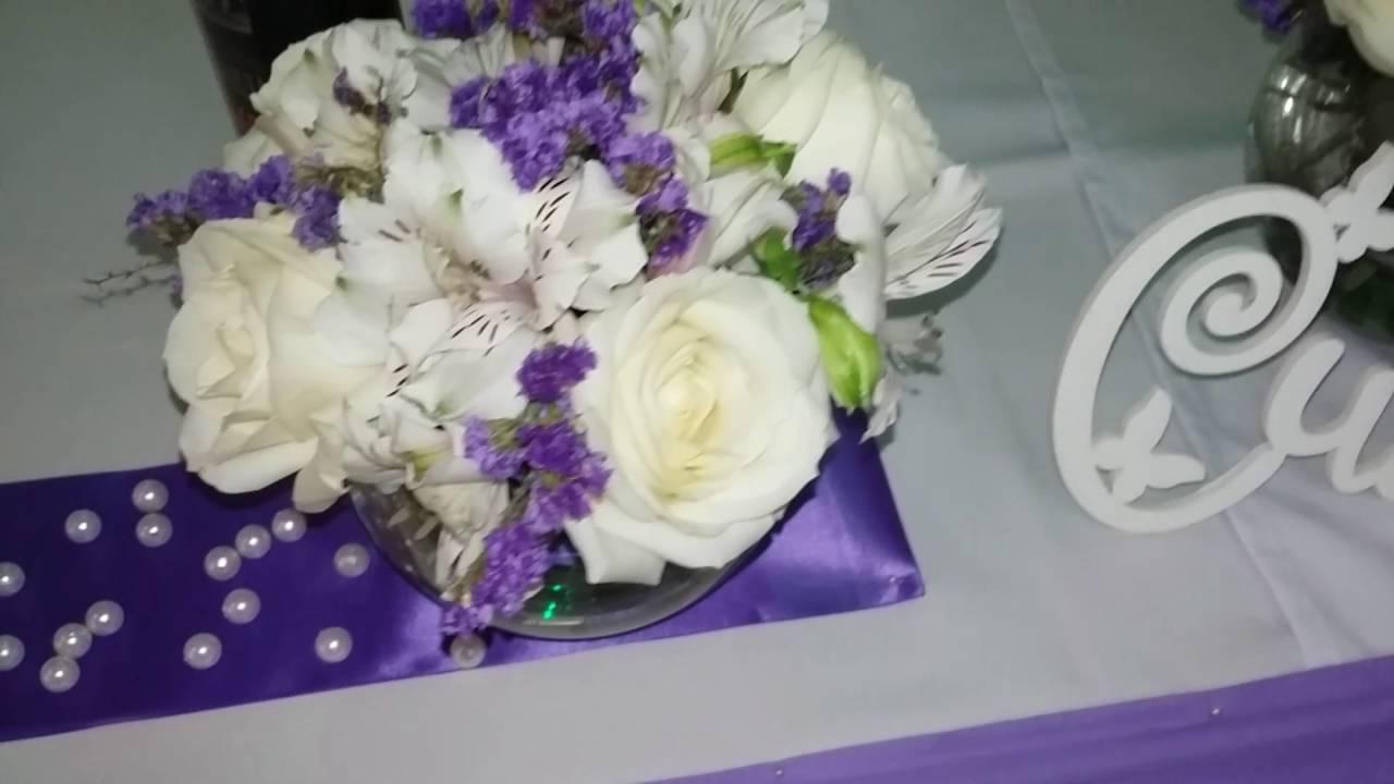 Оформление свадьбы в сиреневом цвете в Королеве