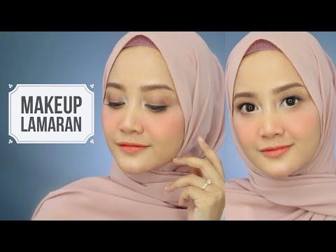 Makeup Lamaran buat Pemula + Tes Ketahanan | Bisa Buat Wisuda | Linda Kayhz - YouTube