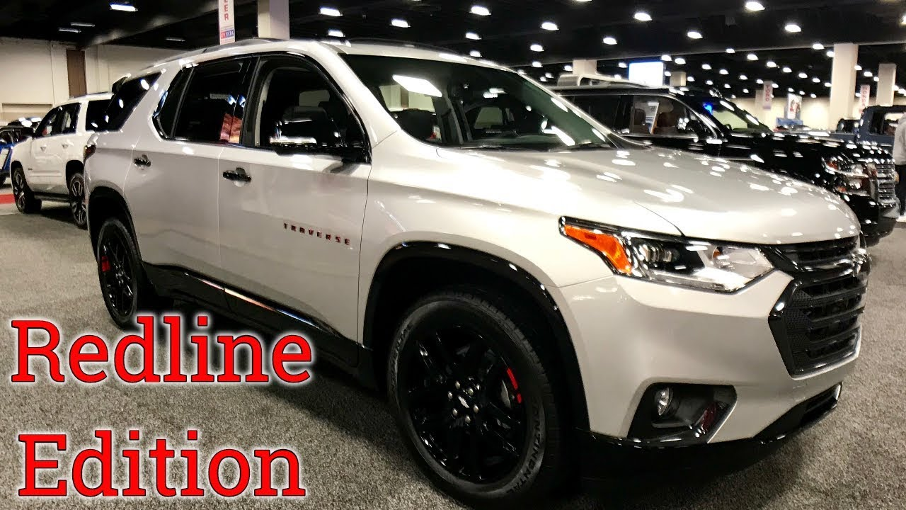 2018 Chevy Traverse Overview | Redline Edition - YouTube
