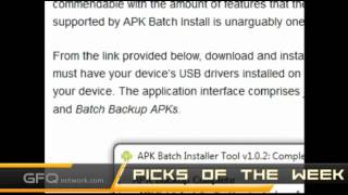 Pick of the Week: APK Batch Installer