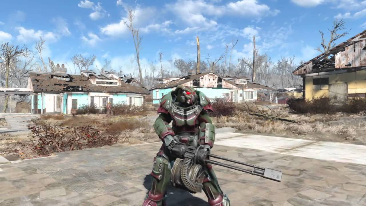 fallout x shark paint on ps fallout 4 x 01 shark paint on ps4