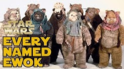 Every Named Ewok in Star Wars Canon - Star Wars Explained