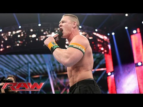 John Cena Comeback: Raw – 28. Dezember 2015