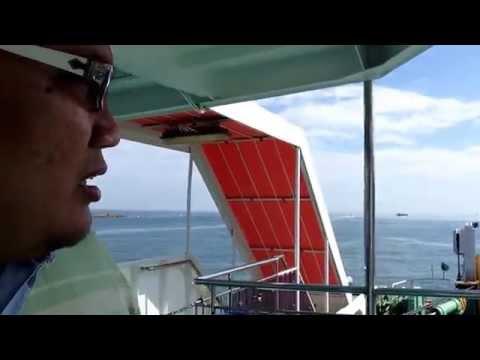 Perjalanan Feri dari Serasa, Muara, Brunei ke Labuan, Malaysia