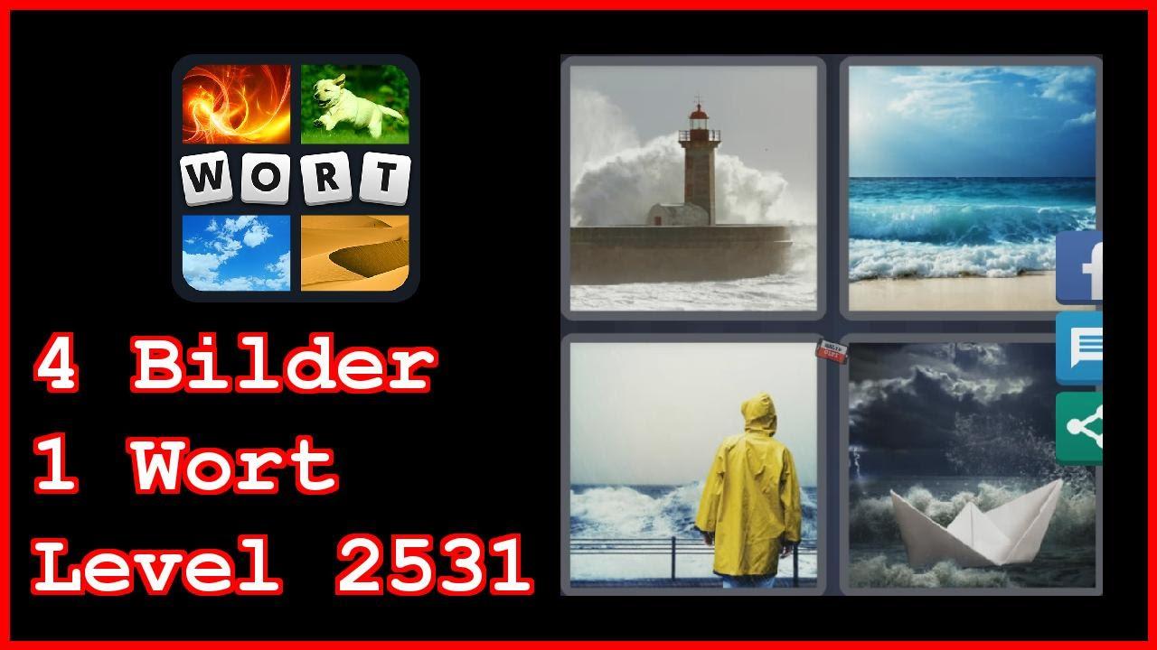 4 Bilder 1 Wort Level 2531 Leuchtturm Meer Regenjacke