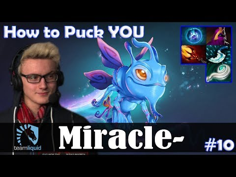 Miracle - Puck MID | How to Puck YOU | Dota 2 Pro MMR  Gameplay #10