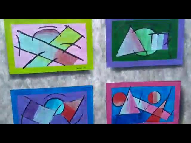 Exposição grafite na escola Dirce Pastore Donato, Mauro Tavares.