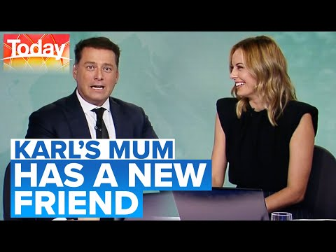 Karl's mum's been making friends in COVID-19 lockdown | Today Show Australia