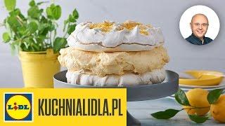 Bezowy tort cytrynowy - Paweł Małecki - przepisy Kuchni Lidla