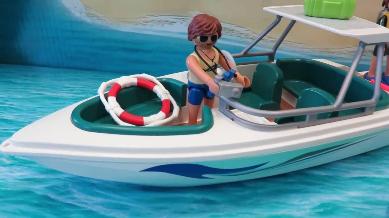 Playmobil Tauchausflug Mit Sportboot 6981 Mit Allen Details