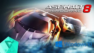 Asphalt 8: Airborne (PC) | Gameplay on Windows 10 [1080p 60FPS]