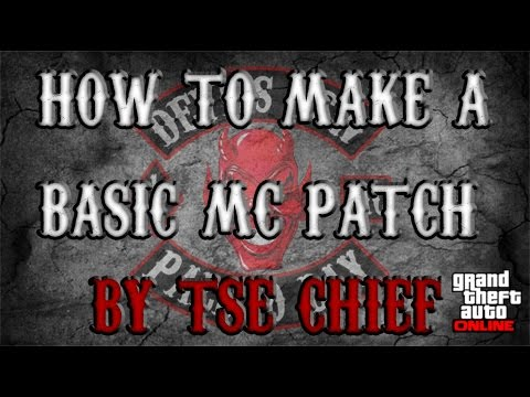 Motorcycle Club Patch Template Photoshop