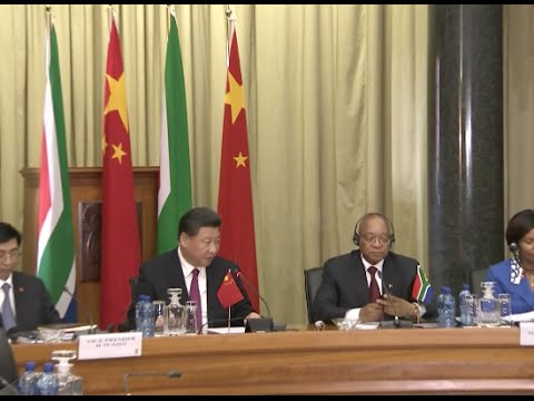 Chinese, South African Presidents Hold Talks to Cement Partnership