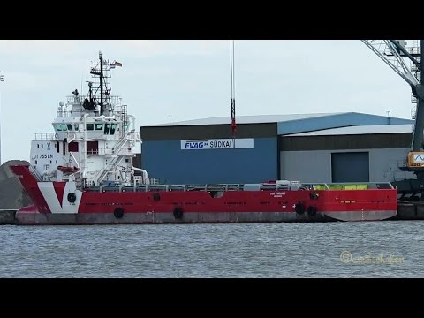 offshore supply vessel VOS PRELUDE PBZK IMO 9444340 Emden