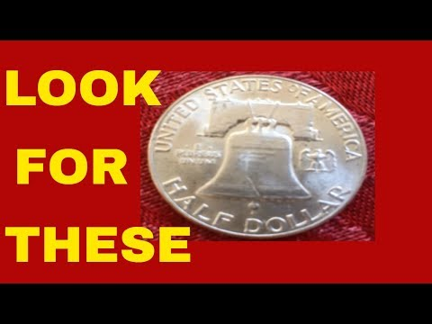 FRANKLIN HALF DOLLARS WHAT TO LOOK FOR AND A NEW COIN ERRORS & VARIETIES LIST