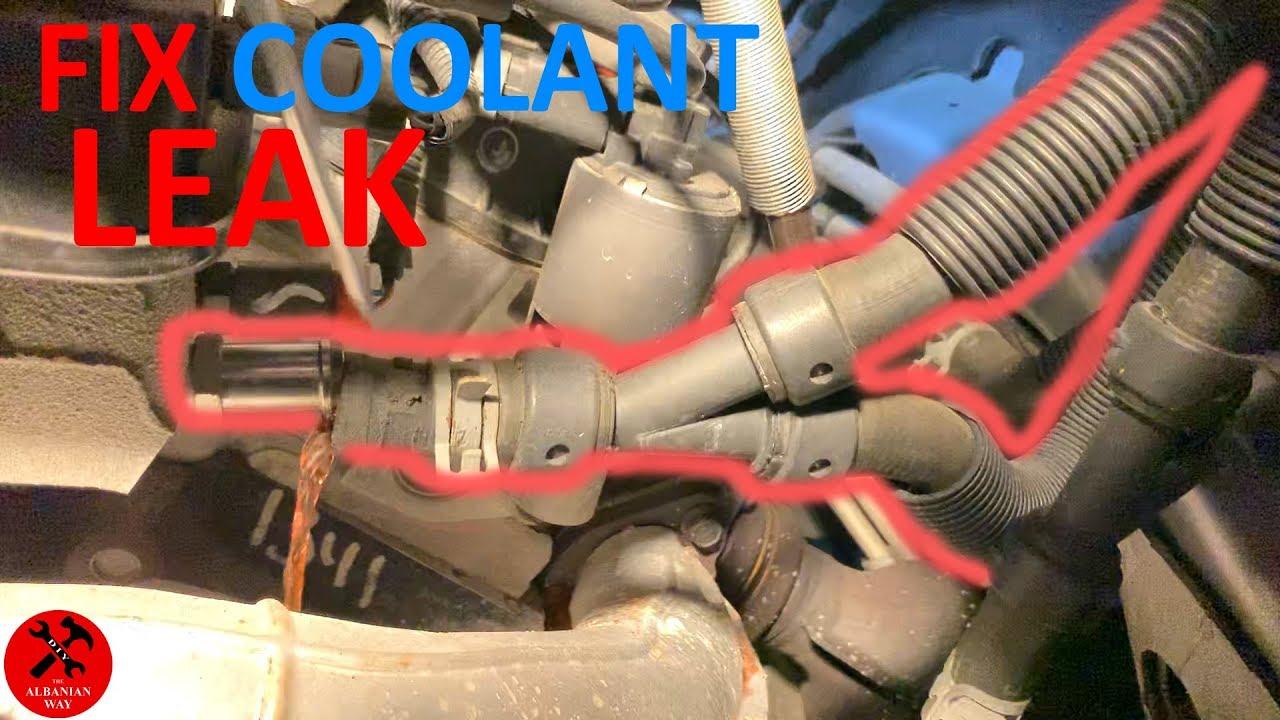 Dodge Grand Caravan Coolant Leak Simple Fix Youtube