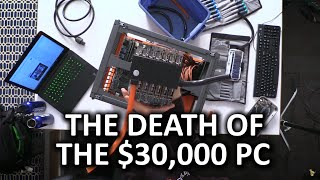 THE $30,000 7 GAMERS 1 CPU BUILD IS NO MORE! Disassembly Stream