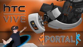 PORTAL 3?! - HTC Vive Portal Gameplay Virtual Reality
