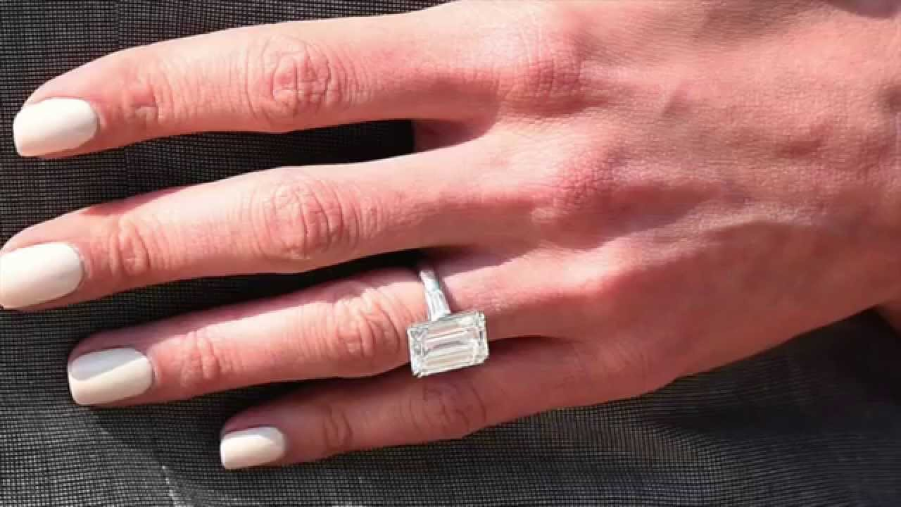 Best Celebrities Engagement Rings 2015 - YouTube