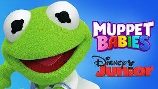 Muppet Babies Kermit Mini Games For Toddlers  - Disney Junior App For Kids