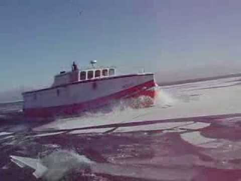 Commercial fishing boats on lake michigan youtube for Michigan out of state fishing license