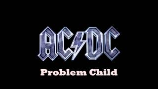 AC DC Problem Child Backing Track