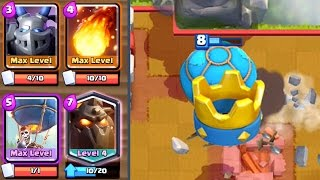 Clash Royale - LAVALOON! Best Air Deck