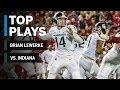 Top Plays: Brian Lewerke vs. Indiana | Michigan State | Big Ten Football