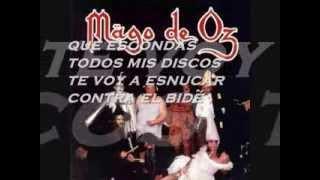 ►Mago de Oz - T'esnucare Contra L'bide (Con Letra) HQ[1994]◄