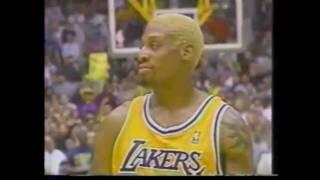 Dennis Rodman LA Lakers Mix