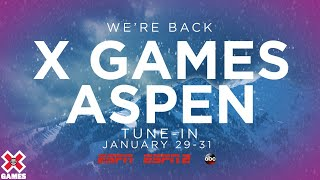 X GAMES ASPEN IS BACK FOR 2021! | World of X Games