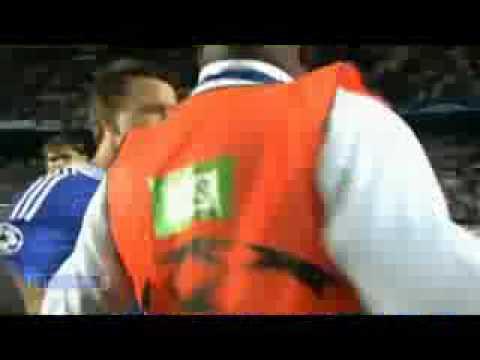 drogba pete les plombs chelsea barcelone 1/2 finale ligue des champions