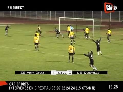 Foot amateur : VIRY Châtillon - QUEVILLY (1-1)