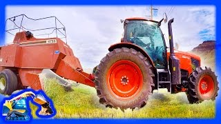 Tractors for Kids | Baler on the Farm 2