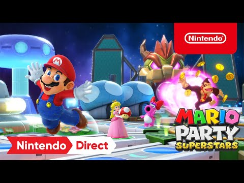 Mario Party Superstars – Announcement Trailer – Nintendo Direct | E3 2021