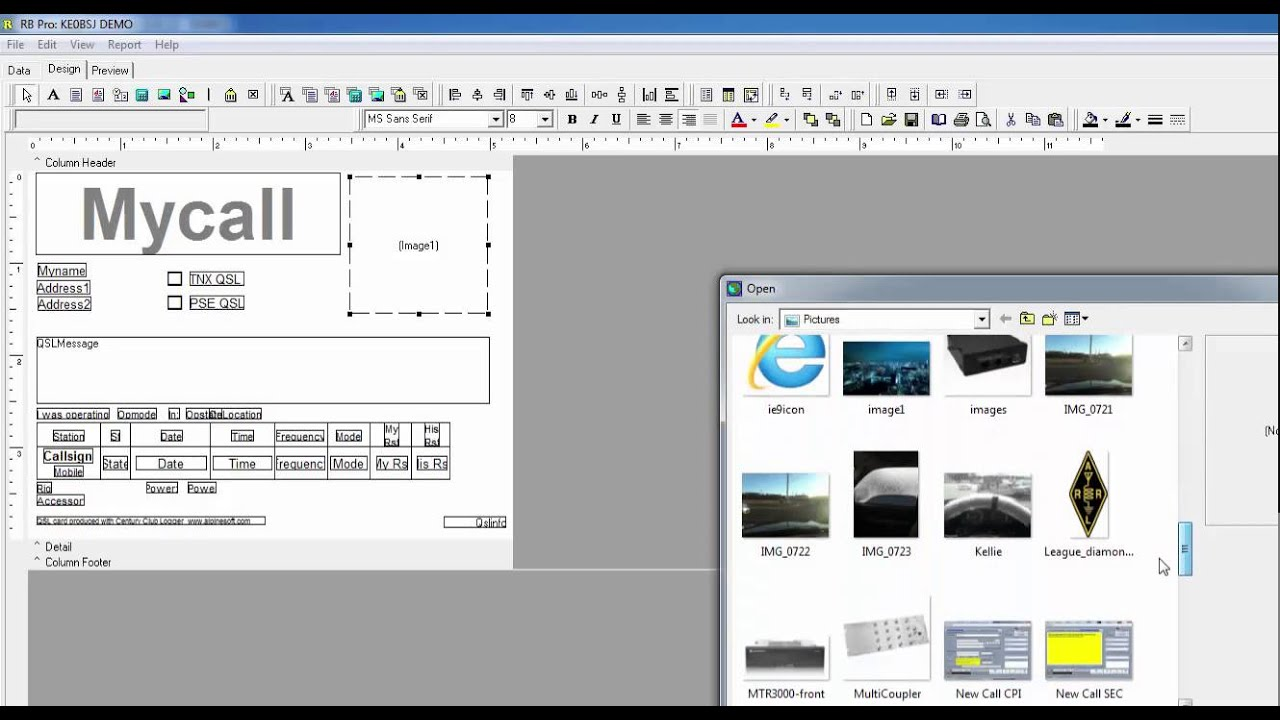 Free Qsl Card Maker Software   Poemview.co