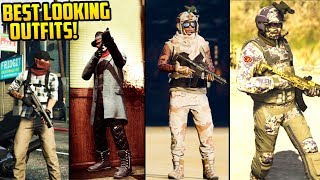 GTA Online FASHION FRIDAY! (The Wasteland Survivalist, RDR2 Dutch's Gang, Blue Fusion & More)