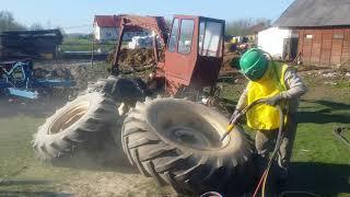 Piaskowanie sprzętu rolniczego