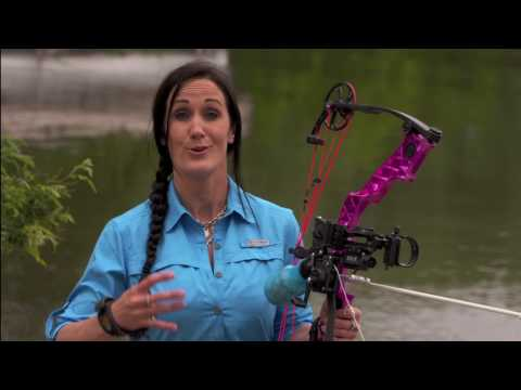 Bowfishing Practice With Melissa Bachman