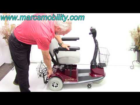 Rascal 235 Electric Scooter with Seat Lift #854 - YouTube on