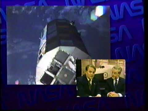 1990 ABC News Coverage of Space Shuttle Columbia  STS 32 LDEF capture