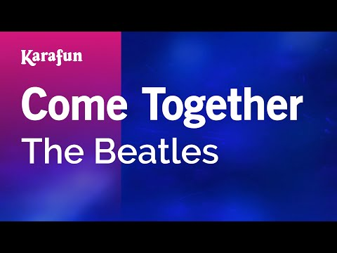 Karaoke Come Together - The Beatles *