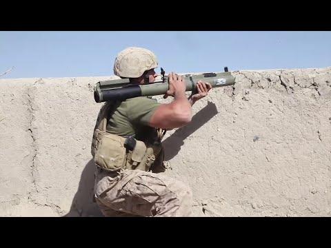 US Marines Engage Taliban In Sangin Afghanistan 2010