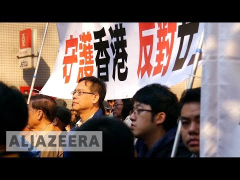 Hong Kong: Protesters call for democratic reform