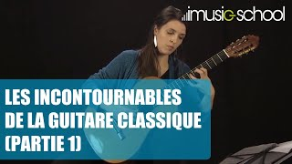 Sandrine Luigi - Les incontournables de la guitare classique - Partie 1